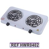 Double Electric Burner Electric Hot Plate Electric Stove (HWR0402)