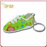 Promotion Gift Cute Shoe Shape Soft PVC Keychain