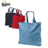 BSCI Customized Denim Jean Shopping Tote Bag