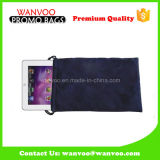 Soft Velvet Drawstring Jewelry Gift Pouch for Mobile Phone Packages