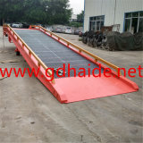 Mobile Dock Ramp for Loading and Unloading