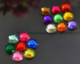 2mm 3mm 4mm 5mm New Acrylic Stone for Nail Art Design (FB-round)