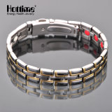 Multicolor Color Watch Clasp Titanium Bracelet with 4in1 Bio Element