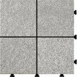 Outdoor Stone Tile 30X30 DIY Deck Tile Granite Floor