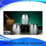 Creative Weaving Tin Metal Tea-Leaf Can (TC-T03-4)