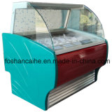 8 Pans 90cm Ice Cream Gelato Mini Display Freezer