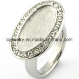 Personalized Jewelry Semi Finished Rings