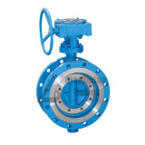 Worm Gear Flange Multi-Layer Metal Seal Cast Steel Triple Offset Three-Eccentric Butterfly Valve D343h D343y