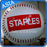 Giant Inflatable Baseball with Custom Logo Wholesale, Flying Helium Sport Balloon for Parade, Sky Giant Ball Balloons