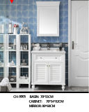 Wholesale Modern American Solid Wood Floor Floating Bathroom Vanity Cabinet