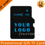 Silkscreen Logo Promotional Micro SD TF Memory Card 4GB