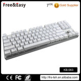 Slim USB Wired Mechanical Gaming 87 Keys Keyboard