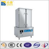 380V Big Capacity Commercial Kitchen Electromagnetic Rice Steamer