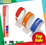 Amusement park waterproof MIFARE Ultralight EV1 disposable RFID wristband