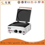 Round Biscuit Grill with Waffle Baker Machine
