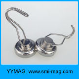 All-Round NdFeB Pot Magnet Hanging Hook