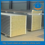 Polyurethane Sealing Rock Wool Structural Insulated Roof/Wall Sandwich Panels
