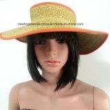100% Straw Hat, Fashion Visor and Folded Style