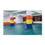 Strong Durable Foam Wall Padding Sports Training Wall Mats for Gym