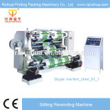 Double Winder Plastic Film BOPP Slitting Machine