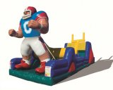 Muskogee Tulsa Inflatable End Zone Obstacle Course