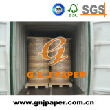 Coated Yellow and Green Carbonless Paper with Roll Packing