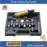 "Pneumatic Tool 1/4"" (6mm) Mini Air Die Grinder Kit Ks-327"