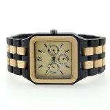 2017 New Design Men Black Sandalwood Wooden Watch