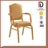 Foshan Steel Back Arm Banquet Chair (BR-A139)