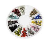 Nail Art Rhinestones Glitter Decoration Tips Diamond Gem Wheel