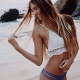 Hand Crochet Tops Bra Halter Bralette Swimwear Beachwear