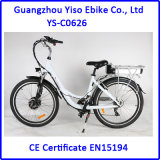 36V 10ah, Lithium Ion Electric Bicycle with Front Drive Motor