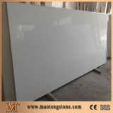 Pure White Artificial Quartz Standard Big Slabs Decorative Stones Wall