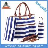 New Wholesale Tote Handbag Adult Baby Set Canvas Diaper Bag