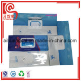 Customized Napkins Packaging Plastic Bag with Window