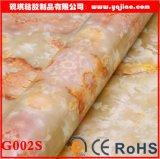 Red Agate Jade Marble Thickening Waterproof PVC Wallpaper