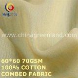 100% Cotton Volie Fabric for T-Shirts Textile (GLLML473)