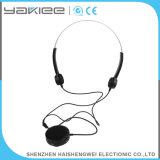 Black Bone Conduction Wired Ear Hearing Aid Receiver