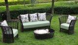Big Round Rattan Simple Furniture Sofa Set