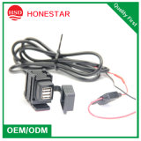 Motorbike Dual USB 5V 2.1A USB Charger for Mobile Phone