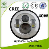 High Power 7 Inch CREE LED Auto Lightting for Jeep 40W