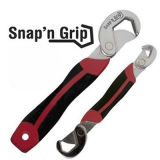Snap N Grip, Universal Wrench Set, Multifunction Wrench