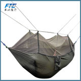 Double Person Fringe Outdoor Canvas Hammock
