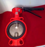 Ductile Iron Dise Butterfly Valve with Full EPDM Rubber Lined