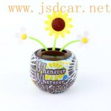 Automotive Interior Decoration Solar Apple Flower (JSD-P0078)