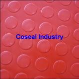Round Button PVC Sheet, Rubber Sheet Rubber Mat