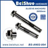 M8X60 Stainless Steel Threaded Bolt Expansion Sleeve Anchors