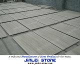 Natural Wooden Vein White Marble Flooring Tiles ,Guizhou White Wooden Vein Marble Tiles