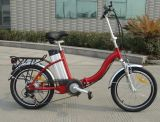 20 Inch Popular Lady Style 20 City Electric Bicycle