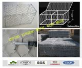 2mx1mx1m Hexagonal Galvanized Gabion Baskets (XM-014)